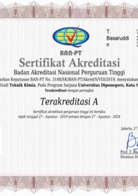 Sertifikat Program Sarjana
